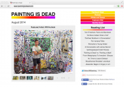 Painting is Dead art blog