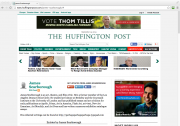 James Scarborough: Huffington Post