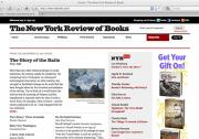 New York Review of Books blog