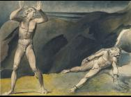 William Blake, Los and Orc, c. 1791, ink and watercolour on paper (Tate collecti