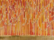 (detail) Benjamin Butler, Autumn Forest (Sixty-Three Trees), 2012 (courtesy the
