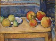 Paul Cézanne, Still Life with Apples and Pears, 1891-92, oil on canvas, 17 5/8 x