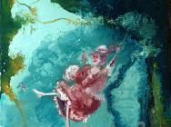 (detail) Genieve Figgis, The Swing after Fragonard, 2014 (courtesy of Half Galle