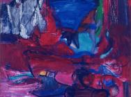 Grace Hartigan, Saint Valentine, 1961, oil on canvas, 84 x 80 inches