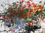(detail) Joan Mitchell, Cous-cous, 1961-62, oil on canvas, 78 3/4 x 119 3/4 inch