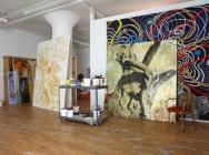 Nabil Nahas, Studio view (courtesy of the artist, photo BOMBLOG)