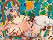 Gladys Nilsson, A Girl in the Arbor #8, 2013 (courtesy the artist and Garth Gree
