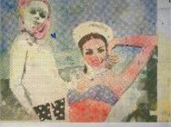 Sigmar Polke, Girlfriends (Freundinnen) 1965/66 (© 2013 Estate of Sigmar Polke /