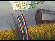 (detail) Jennifer Wynne Reeves, Van Gogh, 1997 (courtesy of CB1 Gallery)