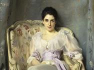 (detail) John Singer Sargent, Lady Agnew of Lochnaw, 1892, oil on canvas, 49 1/2