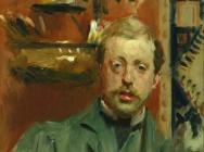 (detail) John Singer Sargent, Charles Stuart Forbes, ca. 1882 or c. 1889 (courte