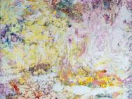 (detail) Anne Smart, Broiderie Landings, 48 x 48 inches (courtesy of the artist)