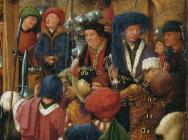 (detail) Jan van Eyck, The Crucifixion; The Last Judgment, ca. 1440–41 (Metropol