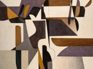 (detail) Oswaldo Vigas, Hieratica IV, 1971, oil on canvas, 70.7 x 58.9 inches (c