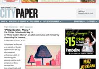 Washington CityPaper arts blog