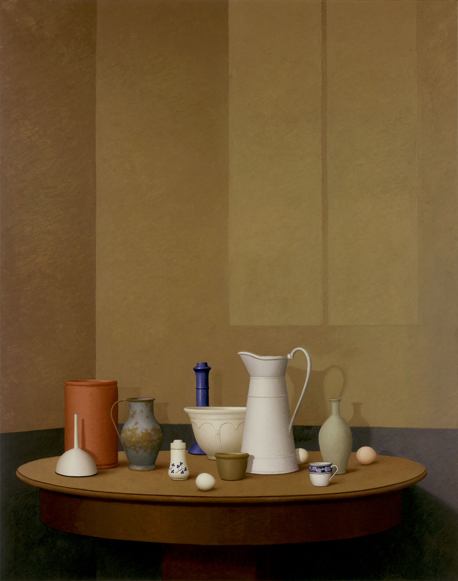William Bailey, Turning, 2003, oil on linen, 70 x 55 inches (courtesy of the artist and Betty Cuningham Gallery)