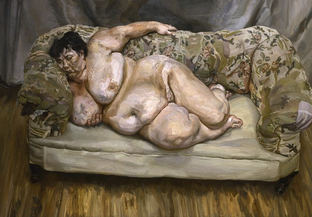 Lucian Freud, Benefits Supervisor Sleeping