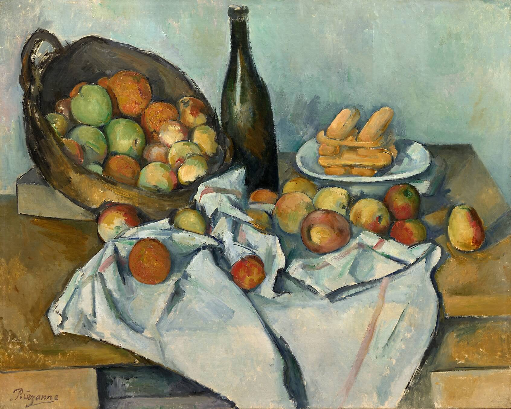Paul Cézanne, The Basket of Apples, c. 1893 (Helen Birch Bartlett Memorial Collection, Art Institute of Chicago)