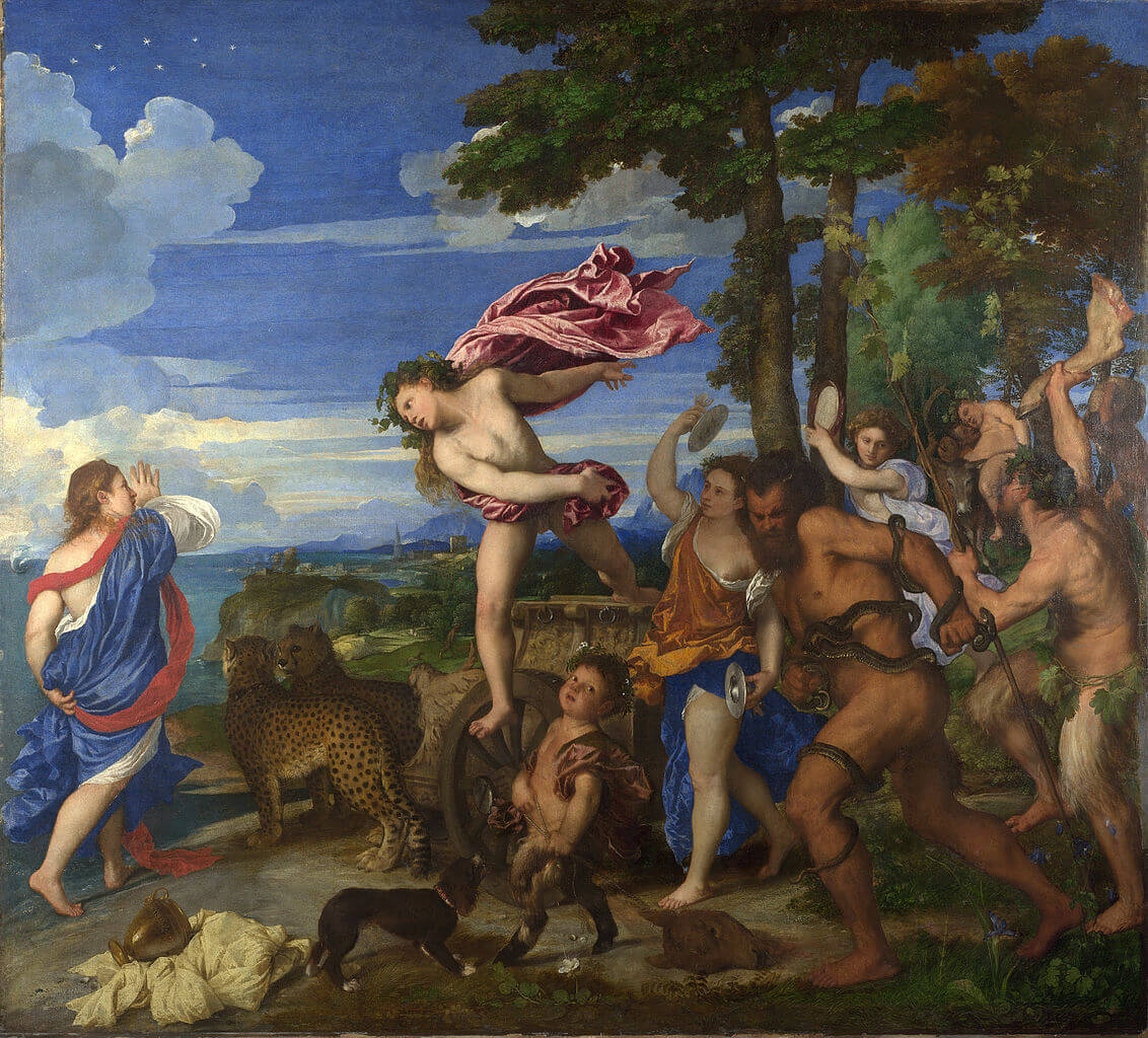 Titian, Bacchus and Ariadne, 1520–1523 (National Gallery, London)
